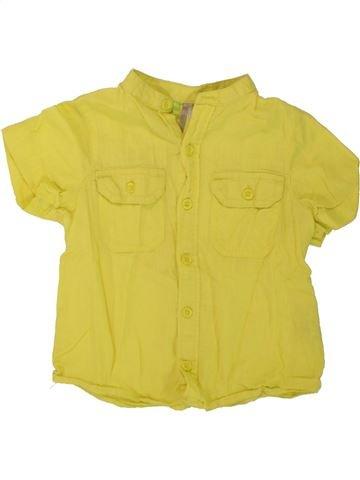 Chemise manches courtes garçon ORCHESTRA vert 4 ans été #1498435_1
