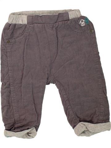 Pantalón niño OKAIDI gris 6 meses invierno #1498440_1