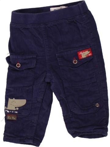 Pantalon garçon LA COMPAGNIE DES PETITS bleu 6 mois hiver #1498454_1