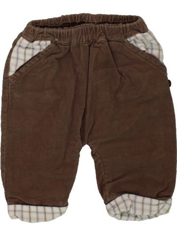 Pantalón niño OKAIDI marrón 1 mes invierno #1498463_1