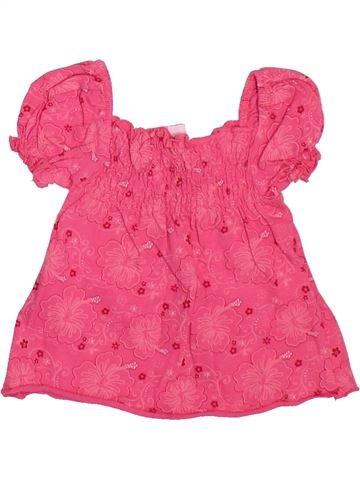 Camiseta de manga corta niña BERTI rosa 3 meses verano #1498507_1