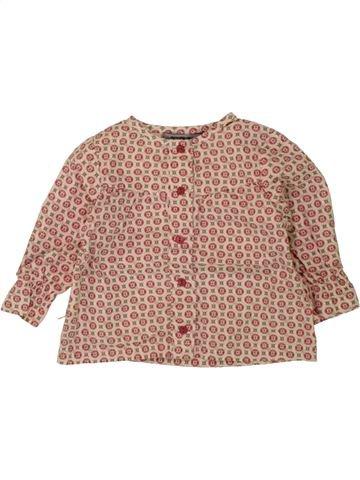 Blusa de manga larga niña TAPE À L'OEIL rosa 6 meses invierno #1498510_1