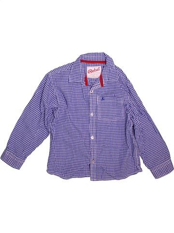 Chemise manches longues garçon PRIMARK violet 8 ans hiver #1498545_1