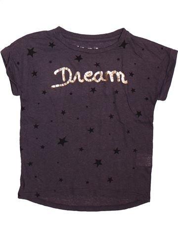Camiseta de manga corta niña GEMO marrón 8 años verano #1498546_1