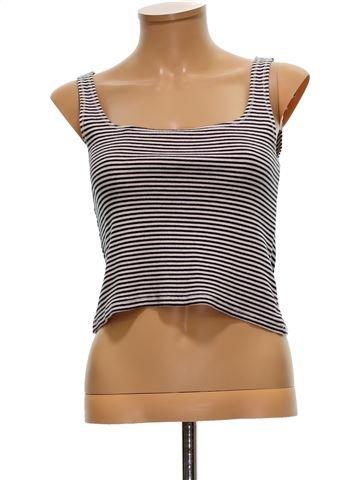 Camiseta sin mangas mujer ZARA M verano #1498561_1