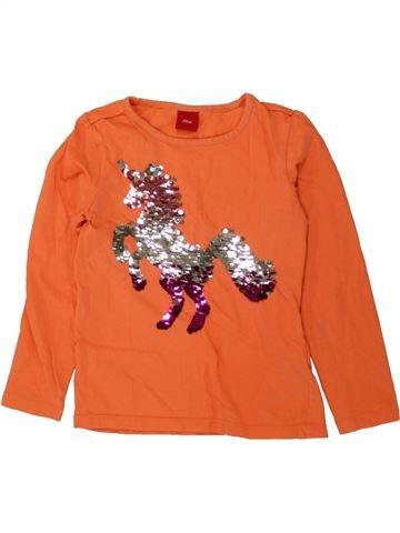 Camiseta de manga larga niña S.OLIVER naranja 5 años invierno #1498636_1