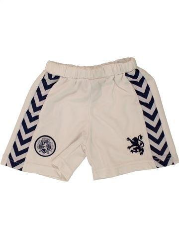 Pantalon corto deportivos niño SANS MARQUE beige 2 años verano #1498640_1