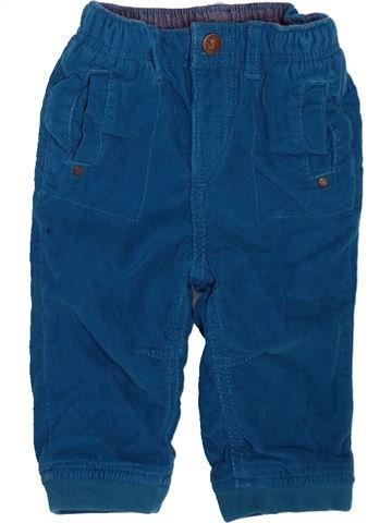 Pantalón niño ORCHESTRA azul 9 meses invierno #1498677_1