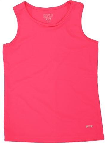 Camiseta sin mangas niña GIRLS rojo 11 años verano #1498680_1