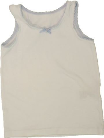 Camiseta sin mangas niña MARKS & SPENCER blanco 2 años verano #1498696_1