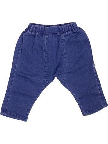 Pantalón niño VERTBAUDET azul 9 meses invierno #1498701_1