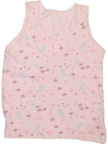 T-shirt sans manches fille MATALAN blanc 3 ans été #1498739_1