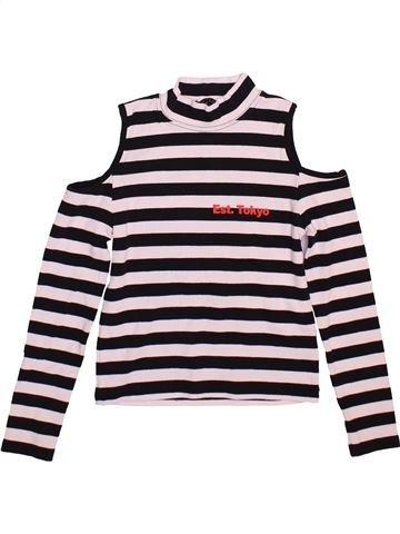 Camiseta de manga larga niña M&CO negro 10 años invierno #1498767_1