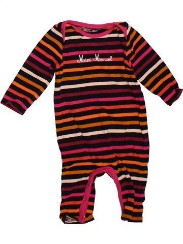 Pyjama 1 pièce fille LE PETIT MARCEL rose 6 mois été #1498817_1