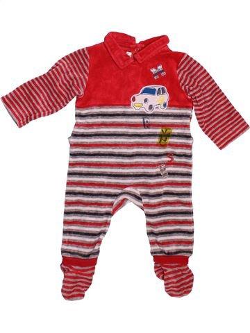 Pijama de 1 pieza niño MARÈSE violeta 6 meses invierno #1498837_1