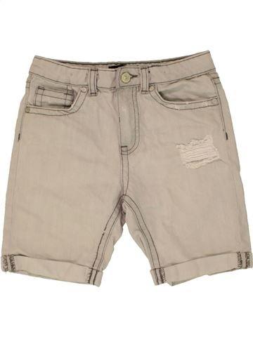 Short - Bermuda garçon RIVER ISLAND beige 8 ans été #1498893_1