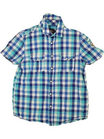 Camisa de manga corta niño H&M azul 14 años verano #1498900_1
