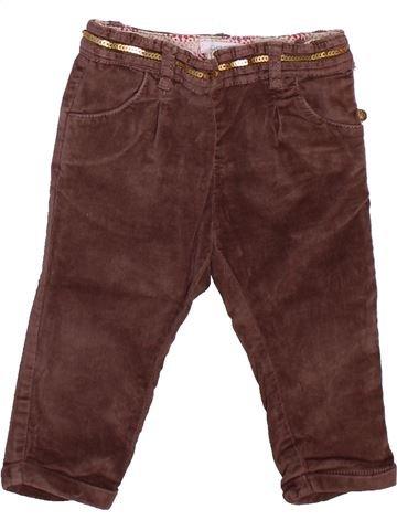 Pantalon fille OKAIDI violet 12 mois hiver #1498904_1