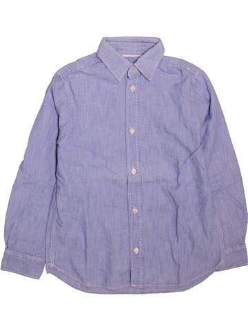 Chemise manches longues garçon H&M violet 8 ans hiver #1498928_1