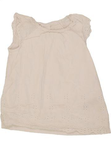 Camiseta de manga corta niña H&M azul 3 meses verano #1498935_1