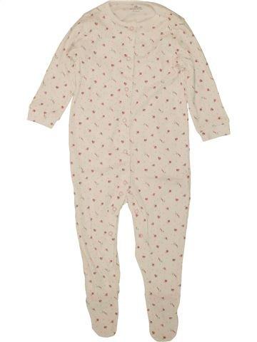 Pyjama 1 pièce fille NEXT beige 18 mois été #1498939_1
