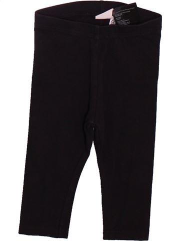 Legging niña H&M negro 6 meses invierno #1498940_1