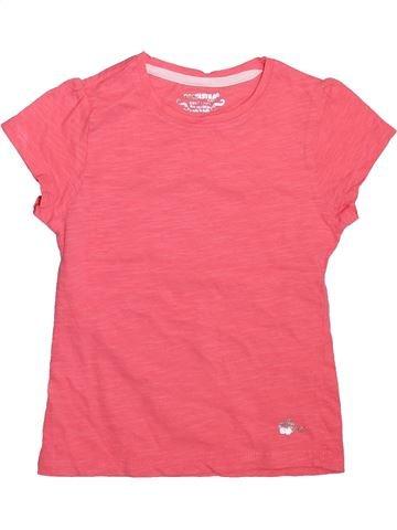 T-shirt manches courtes fille ORCHESTRA rose 4 ans été #1498994_1