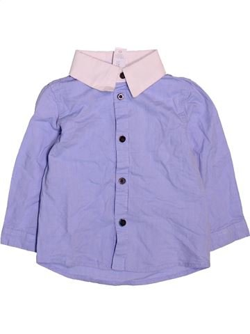Camisa de manga larga niño C&A azul 2 años invierno #1499013_1