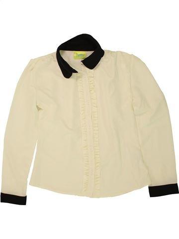 Blusa de manga larga niña IMPIDIMPI beige 10 años invierno #1499045_1