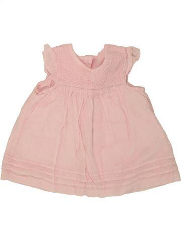 Blusa de manga corta niña GEORGE rosa 9 meses verano #1499099_1