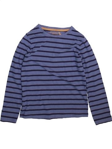 T-shirt manches longues garçon TU bleu 8 ans hiver #1499117_1