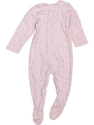 Pijama de 1 pieza niño TU blanco 9 meses verano #1499122_1