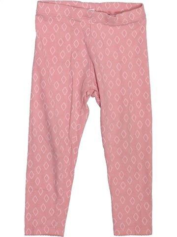 Legging niña F&F rosa 2 años invierno #1499124_1