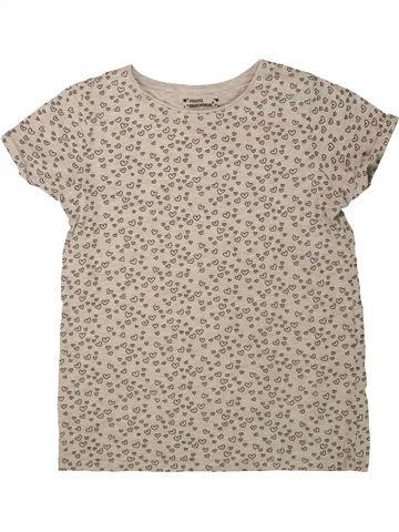 Camiseta de manga corta niña PRIMARK beige 13 años verano #1499259_1