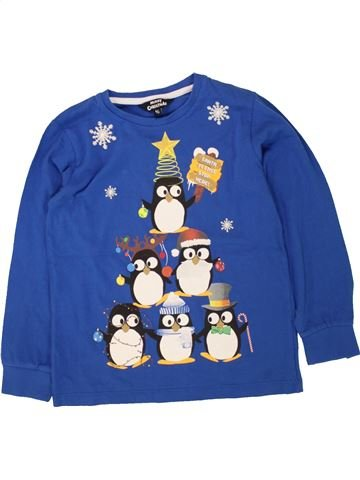 Camiseta de manga larga niño MERRY CHRISTMAS azul 7 años invierno #1499268_1