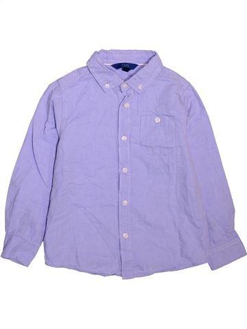 Chemise manches longues garçon OVS violet 6 ans hiver #1499279_1