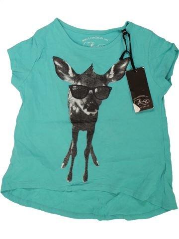 Camiseta de manga corta niña FIRETRAP verde 6 años verano #1499321_1