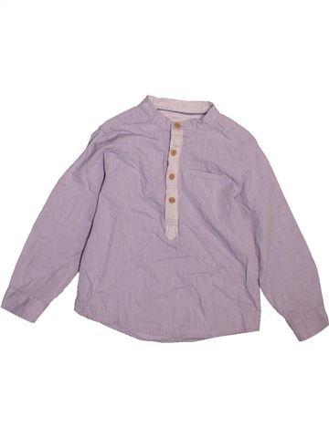 Chemise manches longues garçon ZARA violet 4 ans hiver #1499334_1
