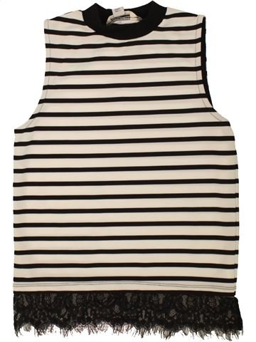 Camiseta sin mangas niña RIVER ISLAND negro 12 años verano #1499356_1