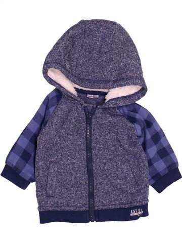 Sudadera niño F&F violeta 6 meses invierno #1499474_1