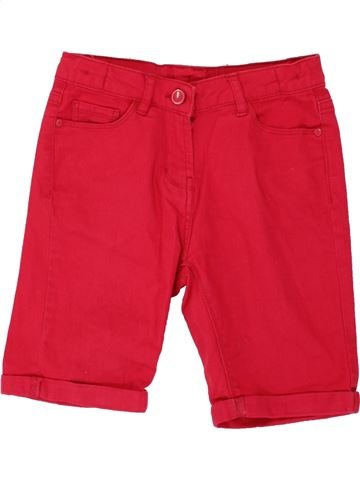 Short - Bermuda fille MATALAN rouge 9 ans été #1499482_1