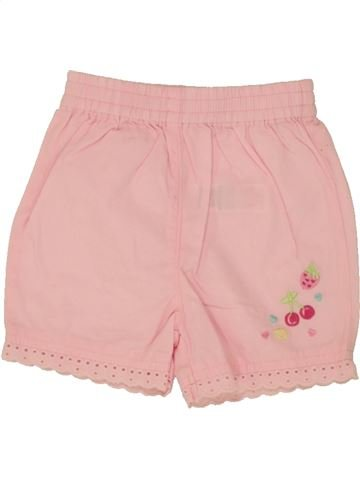 Short-Bermudas niña GEORGE rosa 1 mes verano #1499486_1