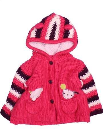 Chaleco niña GEORGE rojo 6 meses invierno #1499500_1