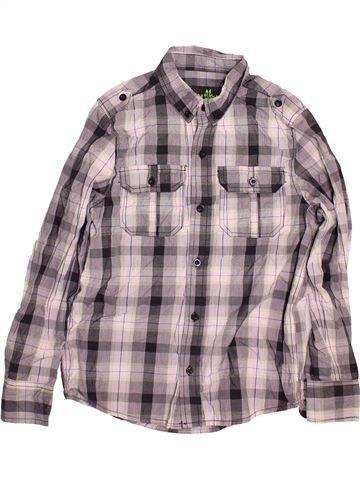 Chemise manches longues garçon PRIMARK gris 12 ans hiver #1499515_1
