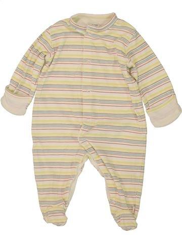 Pyjama 1 pièce garçon MAMAS & PAPAS blanc 6 mois été #1499533_1