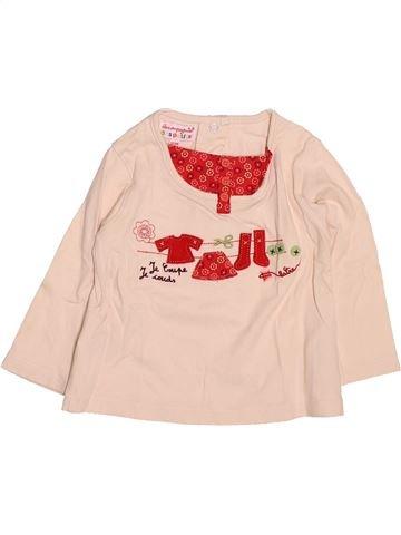 Camiseta de manga larga niña LA COMPAGNIE DES PETITS beige 12 meses invierno #1499559_1