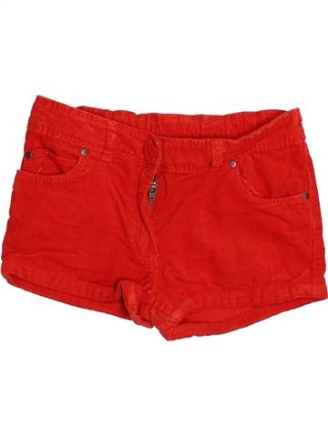 Short - Bermuda fille ORCHESTRA rouge 6 ans hiver #1499615_1