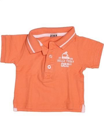 Polo de manga corta niño TAPE À L'OEIL naranja 6 meses verano #1499708_1