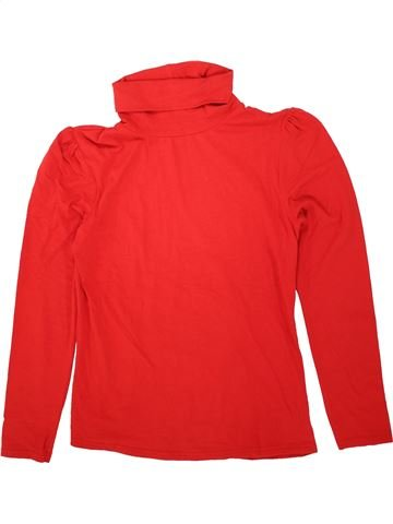 T-shirt col roulé garçon GEORGE rouge 14 ans hiver #1499711_1