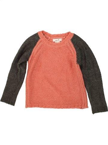 jersey niña LA REDOUTE naranja 6 años invierno #1499789_1